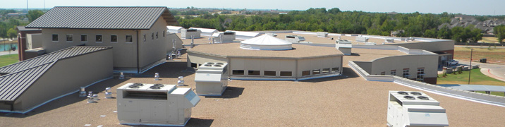 NSingle ply membrane roofs from Hyload Roofing Systems for businesses