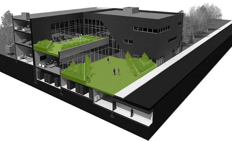 HyGro Green Roof System